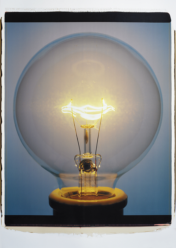The Best Of A Bad Situation  Issue   N Amanda Means Light Bulb By  Color Polaroid Courtesy Of The  Artist  Amanda Means